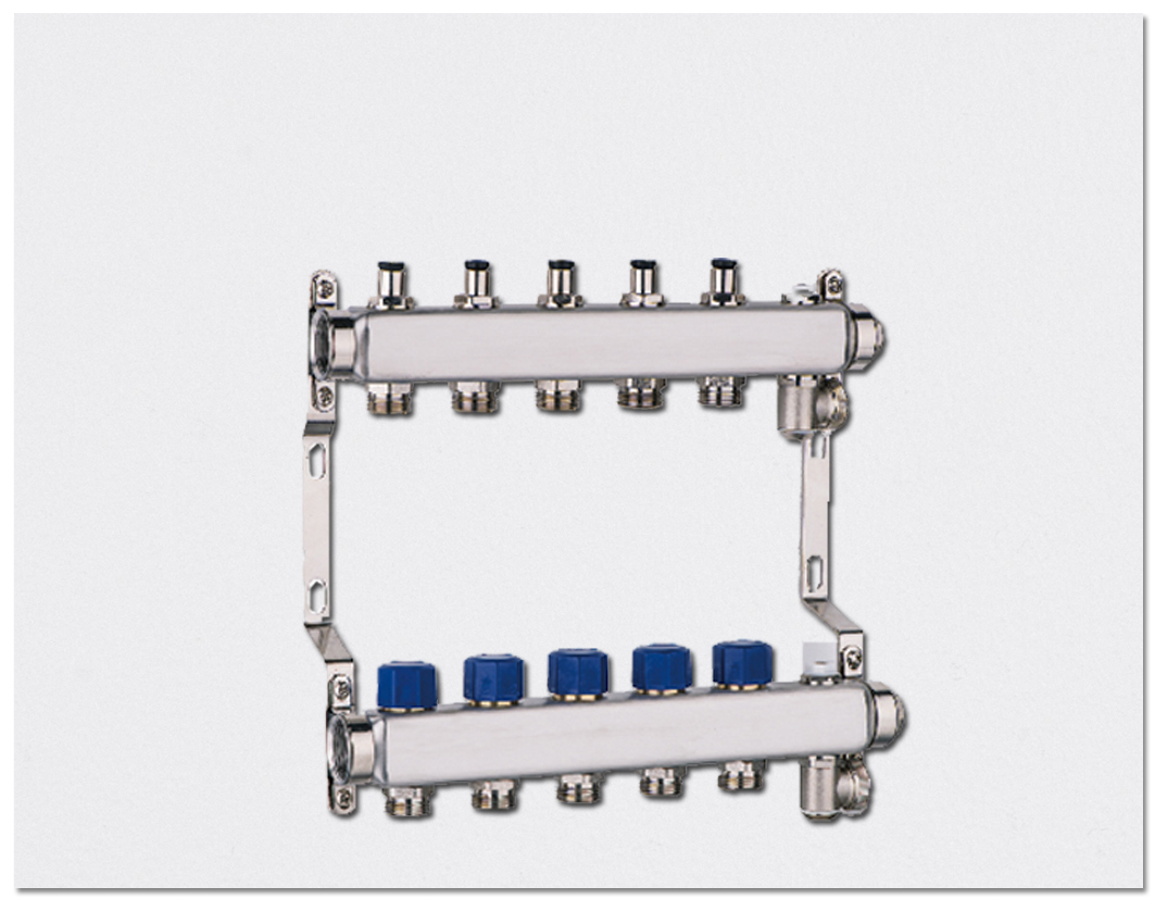 Preset flow type Manifold-Stainless steel