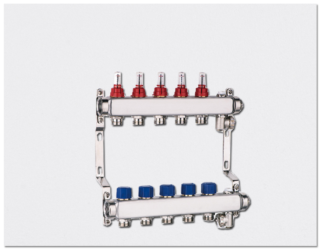 Flow display type Manifold - Stainless Steel